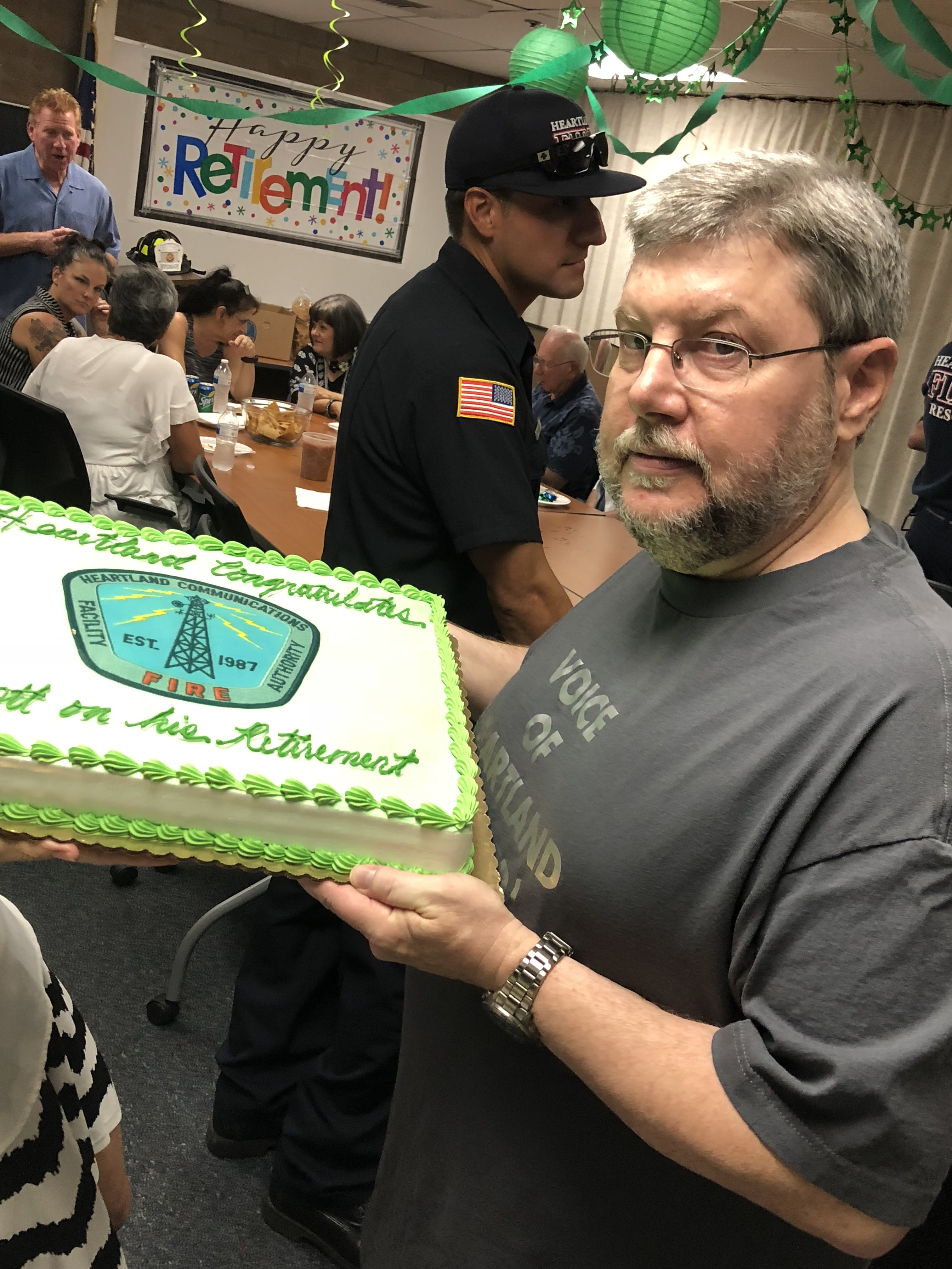 Thank you Scott for 34 years of service